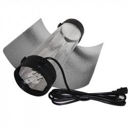 Cool tube cablé - 150 mm avec reflecteur et douille E40