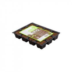 Placa de 12 cubos para plántulas y esquejes - Eazy Plug