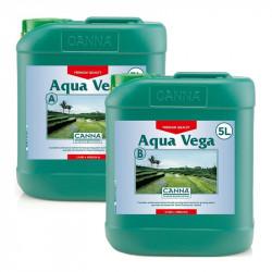 Aqua Vega A + B 5 litres - croissance - Canna - engrais hydroponique