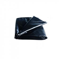 Film de paillage LDPE 6 x 100 m noir Anti-UV 50mic - Nature