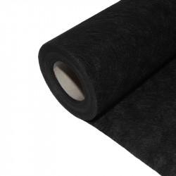 Feutre géotextile noir 1 x 20 m Non tissé - 50 g/m² - Nature