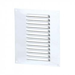 Rejilla de ventilación rectángulo 150x215mm - Aluminio Blanco - Anti - insectos Winflex Ventilación
