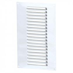 Rejilla de ventilación rectángulo 150x300mm - Aluminio Blanco - Anti - insectos Winflex Ventilación