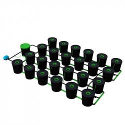 Système Alien RDWC 24 pots de 20L - Alien Hydroponics