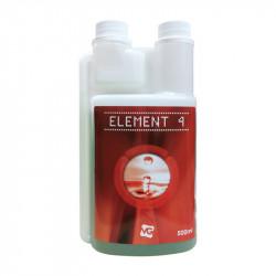 Fertilizante Elemento 4 - Final de la Floración de más de 500 ml - Nueva Fórmula - Vaalserberg Jardín