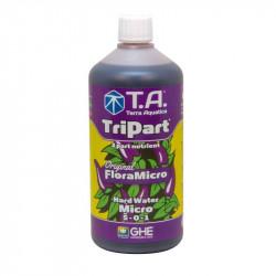 Engrais TripartMicro (Flora Micro) - Eau dure 1 litre - GHE