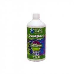 Fertilizantes orgánicos FloraDuo Grow Duro de Agua de 500 ml - GHE