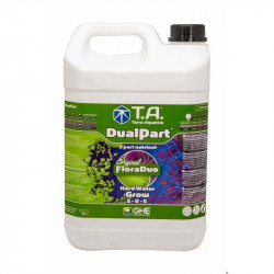 Engrais Bio - Dualpart Grow - 5L - Terra Aquatica GHE