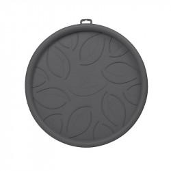 Soucoupe à roulettes 34.5 cm Gris Anthracite - EDA Plastiques