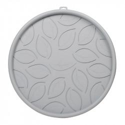 Plato con ruedas de 45 cm de Hormigón de color Gris - EDA Plásticos