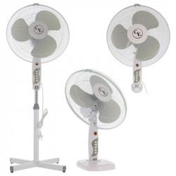 Ventilateur 3 en 1 - 40cm H1.25m 45W