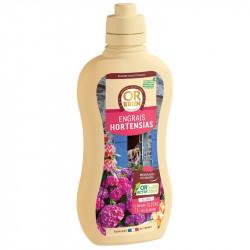 Fertilizante orgánico líquido Hortensias 1L - Oro Marrón
