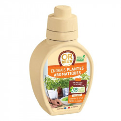 Engrais liquide Plantes Aromatiques 250ml - Or Brun