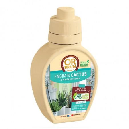 Engrais liquide Cactus 250ml - Or Brun