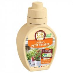 Fertilizante líquido pequeño Jardín de verduras y Tomates 250ml - Marrón de Oro