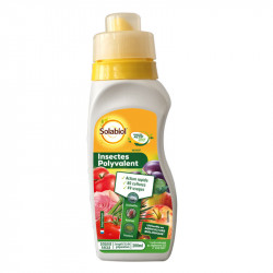 Traitement anti-insectes polyvalent - Bidon bouchon doseur - 200ml - Solabiol