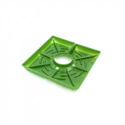 Matrix carré - 4 pouces 10cm - boite de 12 pour les systemes Floraflex