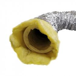 Gaine insonorisé Virgin Phonic Plus - 127mm x 3m conduit ventilation