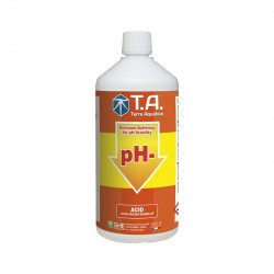 pH Down - Abaisse le ph de l'eau - 1L - Terra Aquatica GHE