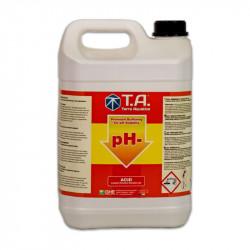 pH - 5 litros ghe ph hacia abajo disminuye el ph del agua