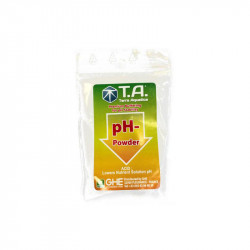 PH Dry Down - Abaisse le pH de l'eau - 25G - Terra Aquatica GHE
