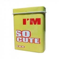 Boite I'm So Cute... - Jaune