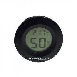 Thermomètre digital - Noir - 45mm - Advanced Star