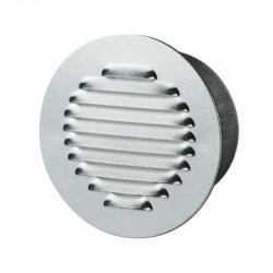 Rejilla de ventilación de la ronda de Ø125mm - Aluminio pulido - Anti - insectos Winflex Ventilación