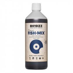 Engrais Biologique Fish Mix 1 litre - BioBizz , engrais émulsion de poisson biologique