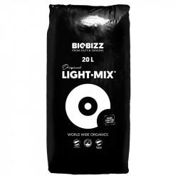 Terreau Biobizz Light Mix 20 litres pour la croissance