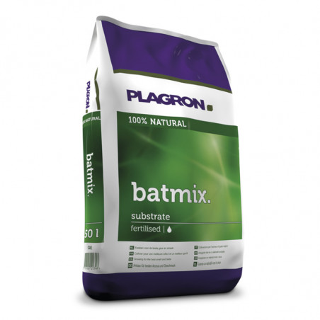 Terreau floraison Bat mix 50 litres - Plagron