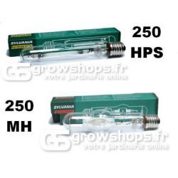 Ampoules HPS et MH Sylvania 250w croissance et floraison