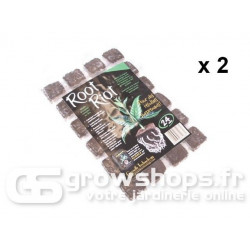Pack plugs de 2 Root Riot x 24 plugs