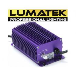 Transformador balastro electrónico Lumatek regulable 250w
