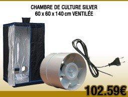 Extracteur tt u 125 thermostat et variateur int gr 280m3 for Kit culture interieur